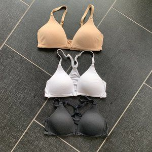 Softcup Underwire Free T-Shirt Bra Bundle of 3